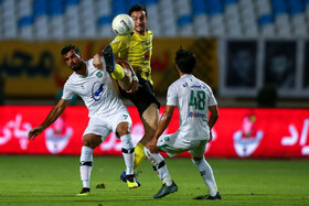 Match between Sepahan FC and Machine Sazi FC, Isfahan, Iran, August 29, 2019.