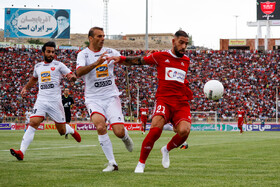 Match between Tractor Sazi Tabriz FC and Persepolis FC, Tabriz, Iran, August 30, 2019.