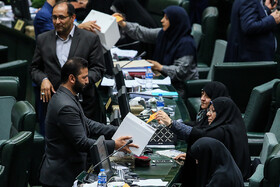 MPs vote for the proposed ministers for Education Ministry and the newly established Cultural Heritage Ministry, Tehran, Iran, September 3, 2019.