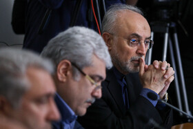 Head of Iran's Atomic Energy Organization Ali Akbar Salehi is present in the session of cabinet Ministers, Tehran, Iran, September 4, 2019.