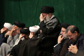 Iran's Supreme Leader Ayatollah Ali Khamenei attends the mourning ceremony for Imam Hussain (PBUH), Tehran, Iran, September 6, 2019.