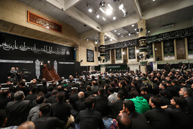 Mourning ceremony for Imam Hussain (PBUH) in the presence of Iran's Supreme Leader Ayatollah Ali Khamenei, Tehran, Iran, September 6, 2019.