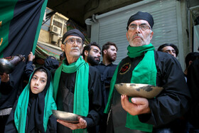 "Hoding mourning rituals for marking ""Ta'sua"", Tehran, Iran, September 9, 2019.