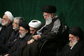 Mourning ceremony of Ashura's night is held in the presence of Iran's Supreme Leader Ayatollah Ali Khamenei, Tehran, Iran, September 9, 2019.