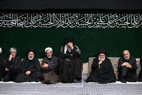 Ashura's night mourning ceremony held in presence of Leader