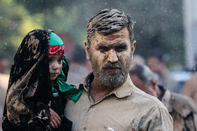 Gelmali tradition on 'Ashura'‌, Lorestan, Iran, September 10, 2019.