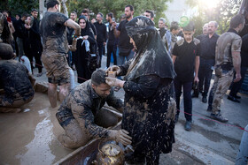 Gelmali tradition on 'Ashura'‌, Tehran, Iran, September 10, 2019.