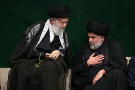 Leader attends Sham-e Ghariban mourning ceremony
