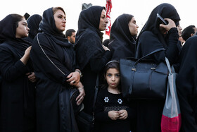 Holding the mourning ceremony of Sham-e Ghariban, Tehran, Iran, September 10, 2019. The mourning ceremony of Sham-e Ghariban is held in the evening of Ashura for the captives of Karbala including Zainab bint Ali, who was the sister of Imam Hussain (PBUH) and Imam Zayn al-Abidin (PBUH), who was the fourth Shiite Imam. During the mourning ceremony of Sham-e Ghariban, people light candles as a sign of mourning for the captives of Karbala.