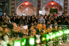 Holding the mourning ceremony of Sham-e Ghariban, Mashhad, Iran, September 10, 2019. The mourning ceremony of Sham-e Ghariban is held in the evening of Ashura for the captives of Karbala including Zainab bint Ali, who was the sister of Imam Hussain (PBUH) and Imam Zayn al-Abidin (PBUH), who was the fourth Shiite Imam. During the mourning ceremony of Sham-e Ghariban, people light candles as a sign of mourning for the captives of Karbala.