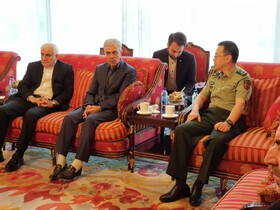 Iran's Chief of Staff arrives in Beijing