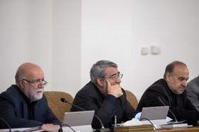 Iranian Oil Minister Bijan Zanganeh (L), Iranian Interior Minister Abdolreza Rahmani Fazli (M) and Iran's Minister of Sports and Youth Affairs Masoud Soltanifar are present in the session of Iran's cabinet ministers, Tehran, Iran, September 11, 2019.