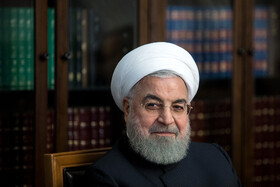 Iranian President Hassan Rouhani is seen in the session of Supreme Council of Economic Cooperation, Tehran, Iran, September 14, 2019.