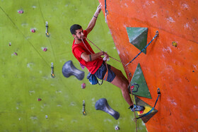 2nd edition of Iranian clubs bouldering championship