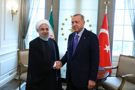 Iran's Rouhani meets Turkish counterpart