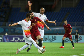 Football match between Shahr-e Khodro FC and Foolad FC, Mashhad, Iran, September 20, 2019.