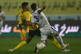 Football match between Sepahan FC and Naft Masjid Soleiman FC, Isfahan, Iran, September 20, 2019.