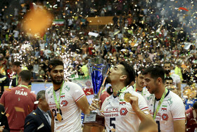 Iran volleyball becomes champion of Asia