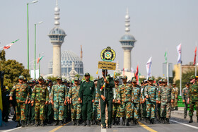 Parade ceremony of Iranian armed forces, marking the beginning of Iran's sacred defense week is held in Isfahan, Iran, September 22, 2019.