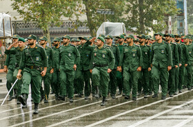Parade ceremony of Iranian armed forces, marking the beginning of Iran's sacred defense week is held in Mazandaran, Iran, September 22, 2019.