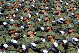 Parade ceremony of Iranian armed forces, marking the beginning of Iran's sacred defense week is held in Kerman, Iran, September 22, 2019.
