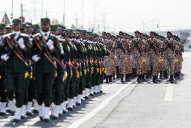 Parade ceremony of Iranian armed forces, marking the beginning of Iran's sacred defense week is held in Tehran, Iran, September 22, 2019.