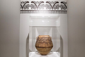 """Exhibition of Spanish artifacts entitled """"The Archeology of Spain"""" opens in Tehran, Iran, September 22, 2019. The exhibition features 300 artifacts that have been selected from the Alicante Museum of Archaeology in Spain."""