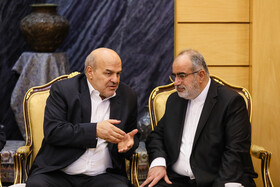 On the sidelines of a meeting, after which Iranian President Hassan Rouhani left Tehran for New York, Tehran, Iran, September 23, 2019. Iranian President will attend the 74th United Nation General Assembly in New York.