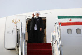 Iran's Rouhani leaves Tehran for New York