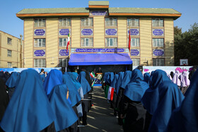 On the sidelines of the ceremony marking the official beginning of 1398-99 school year in the presence of Iranian President Hassan Rouhani, Tehran, Iran, September 23, 2019.
