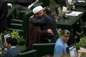 On the sidelines of the public session of Iranian Parliament, Tehran, Iran, September 24, 2019.