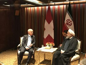 Iranian, Swiss presidents stress deepening ties