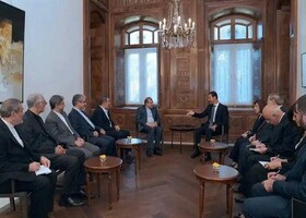Bashar Assad, senior assistant to Iran FM hold talks