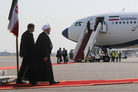 Iranian President returns to Iran