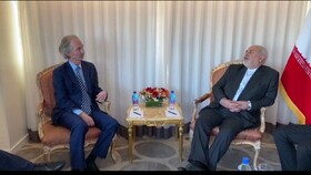 Iran FM, UN envoy for Syria discuss latest developments in Astana Process
