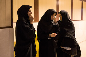 Family of the 12-year-old girl who successfully received heart transplant are seen in the photo, Tehran, Iran, September 28, 2019. The heart of a 35-year-old woman was successfully transplanted into a 12-year-old girl.