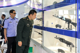 18th edition of the International Police, Safety and Security Equipment Exhibition, Tehran, Iran, September 30, 2019.