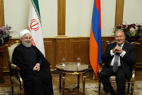 Iranian President travels to Armenia