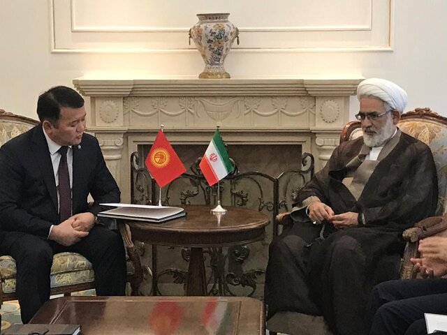 Iran's Attorney General travels to Kyrgyzstan