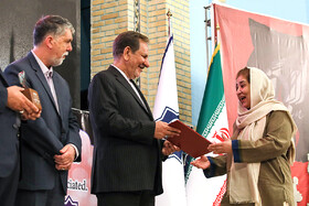 "Winners of the ""Fifth Arbaeen International Award"" are honored by Iranian First-Vice President Es'haq Jahangiri, Tehran, Iran, October 1, 2019.