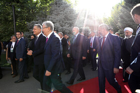 On the sidelines of the Eurasian Economic Council's Summit, Yerevan, Armenia, October 1, 2019.