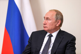 Russian President Vladimir Putin is seen in his meeting with Iranian President Hassan Rouhani on the sidelines of the Eurasian Economic Council's Summit, Yerevan, Armenia, October 1, 2019.