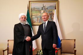 Presidents of Iran, Russia meet in Armenia