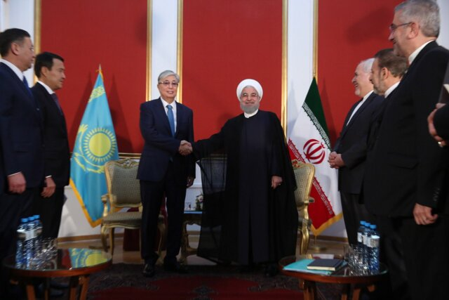 Caspian Sea should be the sea of ​​peace, friendship for littoral states: President Rouhani