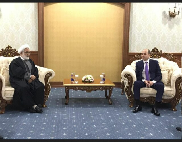 Iran's Attorney General meets his Kazakh counterpart