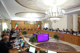Session of Iran's cabinet ministers, Tehran, Iran, October 2, 2019.