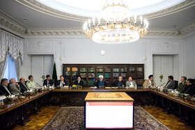 Meeting of the Supreme Council of Cyberspace, Tehran, Iran, October 5, 2019.