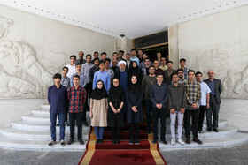 On the sidelines of the meeting between Iranian President Hassan Rouhani and medalists of international Science Olympiads, Tehran, Iran, October 6, 2019.