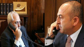 Iranian, Turkish FMs hold phone talks