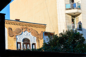 Minaei House is seen in the photo, Tehran, Iran, October 8, 2019. The house was built 100 years ago and is one of the most enchanting buildings in Tehran. The building has been registered on the National Heritage List of Iran and has been renovated recently.
